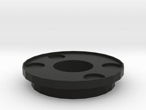 IGOR Spetsnaz Barrel Tip With Lip in Black Natural Versatile Plastic