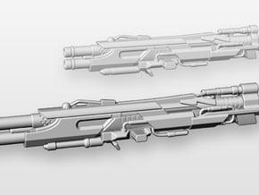 """Feuer Frei!"" scatter blaster (13 cm length) in Purple Processed Versatile Plastic"