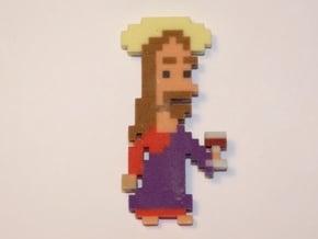 Jesus iotacon in Full Color Sandstone