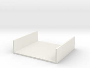 STAND in White Natural Versatile Plastic