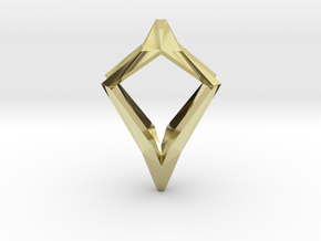 HEAD TO HEAD Natural, Pendant in 18K Gold Plated