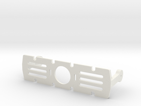 Assembly E-chassis Structure Toppart OpenROV V2.6 in White Natural Versatile Plastic