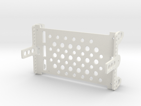 Assembly E-chassis Structure OpenROV V2.6 in White Natural Versatile Plastic