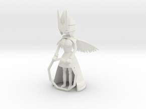 Angelic Guardian in White Natural Versatile Plastic