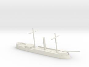 FS Sphynx/CSS Stonewall/IJN Kotetsu, 1/600 in White Natural Versatile Plastic