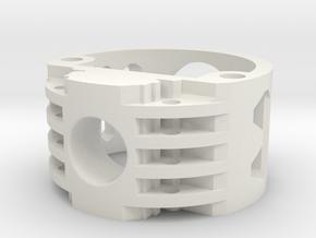 GCM110-02-V2 - Recharge Port 2.1mm in White Natural Versatile Plastic