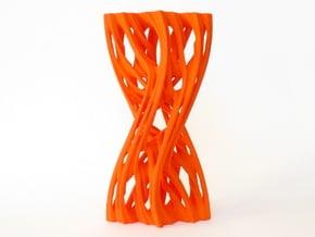 Julias Eye II in Orange Processed Versatile Plastic