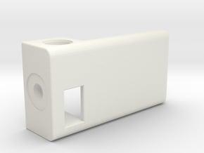 1550P BoxMod-Extension V2 in White Natural Versatile Plastic