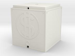 Geldhaus für 1:220 (Z scale) in White Natural Versatile Plastic