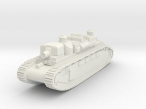 French Char 2C Alsace- 1/285 (Qty.1) in White Natural Versatile Plastic