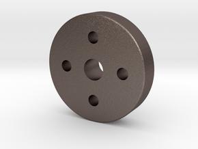 Prop Shaft Extension - Zenoah in Polished Bronzed Silver Steel