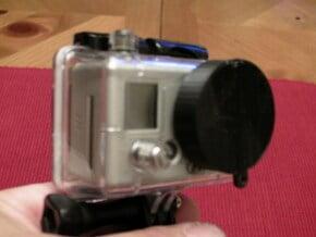 GoPro Lens Cap in White Natural Versatile Plastic
