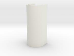 Splendid Mods 26650 Cap for SX350 A & Unregulated  in White Natural Versatile Plastic
