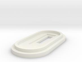 Splendid Mods DNA40 Cap in White Natural Versatile Plastic