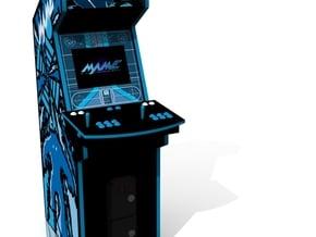 Arcade Machine in Full Color Sandstone
