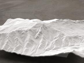 8'' Grandfather Mtn, North Carolina, USA in White Natural Versatile Plastic