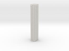1-20 X12 Marsden Matting in White Natural Versatile Plastic