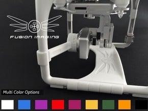 DJI Phantom Gimbal Guard (V2) in White Processed Versatile Plastic