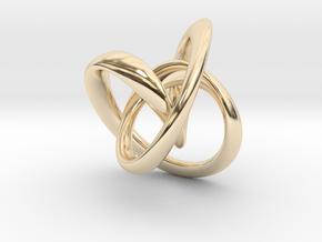 Pendant: Tiffany (Medium) in 14K Yellow Gold