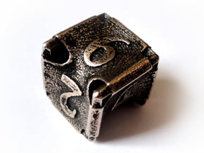 Stretcher d6 in Polished Bronzed Silver Steel