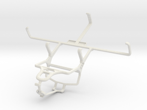 Controller mount for PS4 & PS Vita (PCH-1000) - Fr in White Natural Versatile Plastic