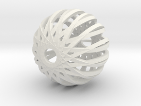 Pirouette 3.1 (Christmas edition) in White Natural Versatile Plastic
