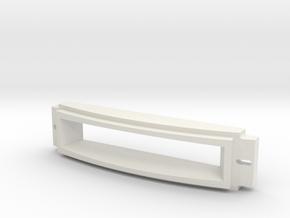 Dome Large Logic Display Box 1:1 in White Natural Versatile Plastic