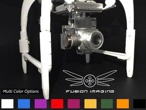 DJI Phantom Compass Leg Extender (V3) 'Straight' in White Processed Versatile Plastic