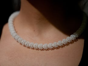Diamond Necklace in Smooth Fine Detail Plastic