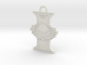 Thinner Rosette Gmus-4 in White Natural Versatile Plastic