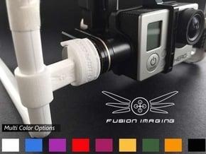 GoPro Zenmuse H3-3D/H4-3D Gimbal Transport Lock V2 in White Processed Versatile Plastic