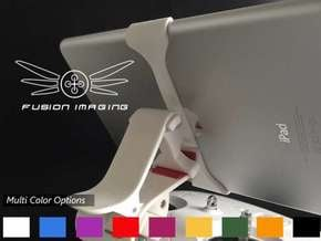 iPad Mini Vector (V2) Remote Mount for DJI Phantom in White Processed Versatile Plastic