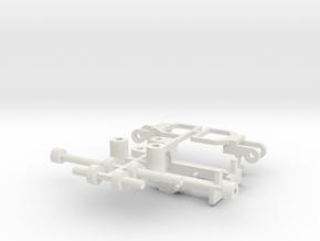UDZ Kupplung in White Natural Versatile Plastic