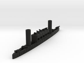 1/600 Stevens Battery in Black Natural Versatile Plastic