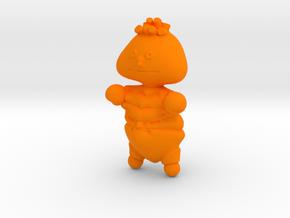 Ernie in Orange Processed Versatile Plastic