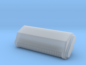 HO 1:87 loader mulch head in Smooth Fine Detail Plastic