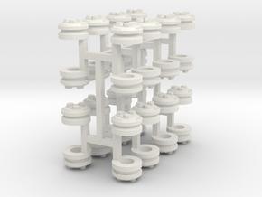Bearing Cap1a S32 in White Natural Versatile Plastic