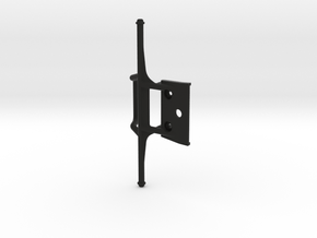 Nikko Turbo Panther Custom Bumper - Standard  in Black Natural Versatile Plastic