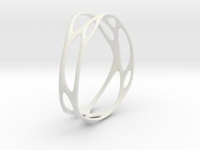 Branching No.2 in White Natural Versatile Plastic