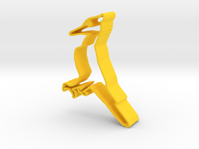 Ivory-Billed Woodpecker in Yellow Processed Versatile Plastic