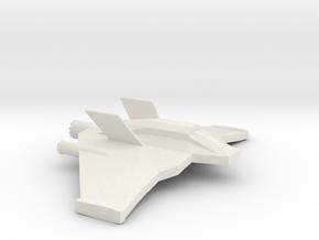 F-302 in White Natural Versatile Plastic