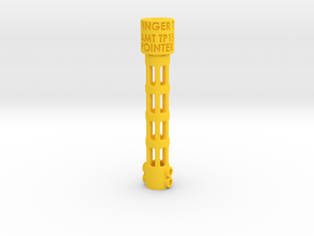 Pointer_150222 in Yellow Processed Versatile Plastic