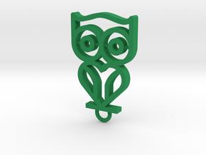 David in Green Processed Versatile Plastic