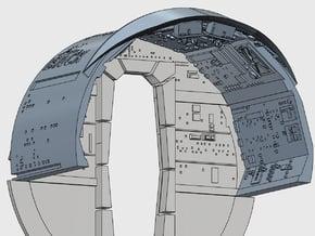 YT1300 DEAGO CABIN WALLS in Smooth Fine Detail Plastic