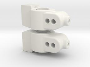 CUSTOMWORKS - HUB CARRIER - 0 DEGREE in White Natural Versatile Plastic