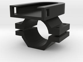 Ion Barrel Mount in Black Natural Versatile Plastic