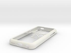 Melbourne Metro Trains map iPhone 5c case in White Natural Versatile Plastic