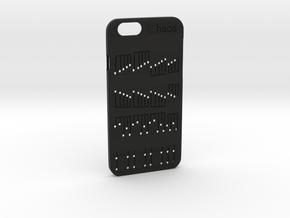 Iphone6 6plus(Chaos) in Black Natural Versatile Plastic