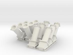 1:48 scale MK 36 SRBOC Chaff Launchers in White Natural Versatile Plastic