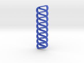 Chains in Blue Processed Versatile Plastic
